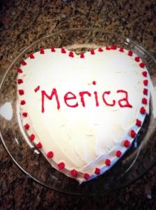 I <3 America Cake!